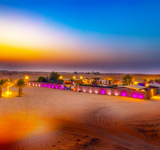 Evening Desert Safari with BBQ Dinner  Price