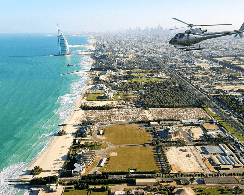 ICONIC Helicopter Tour - 12 Minutes Ticket