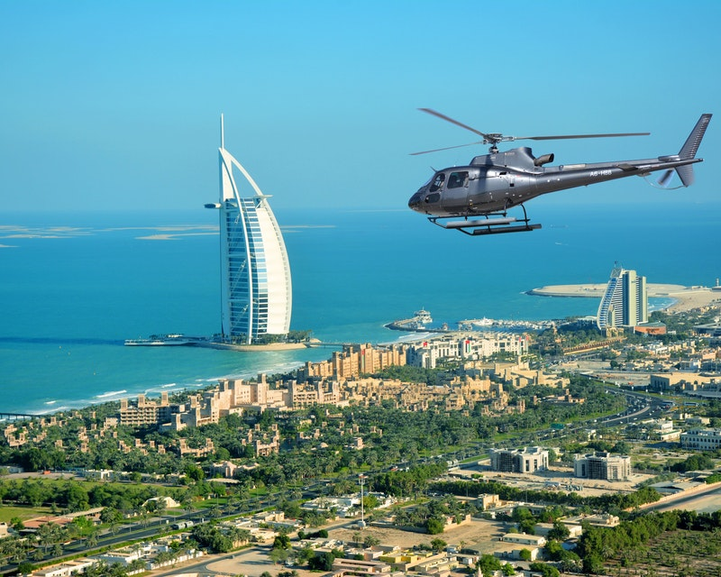 ICONIC Helicopter Tour - 12 Minutes Location