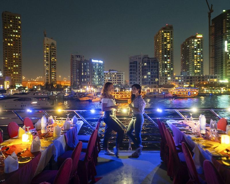 Royal Dinner Dhow Cruise at Dubai Marina Discount