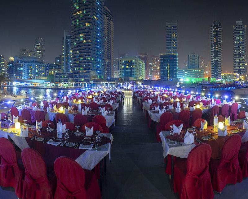 Royal Dinner Dhow Cruise at Dubai Marina Category