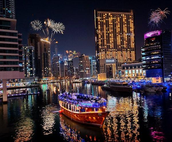 Royal Dinner Dhow Cruise at Dubai Marina