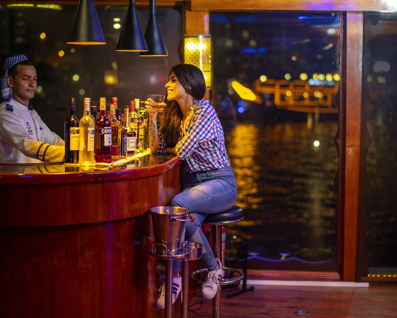 Royal Dinner Dhow Cruise at Dubai Marina Ticket