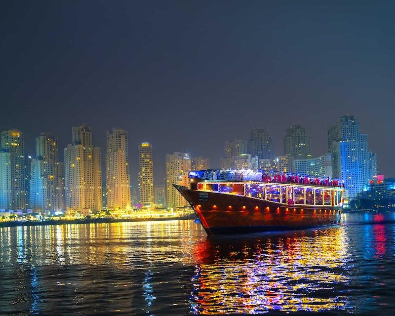 Royal Dinner Dhow Cruise at Dubai Marina Price