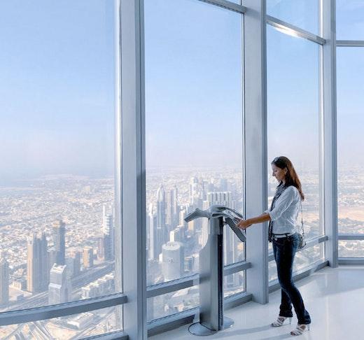 Dubai City tour + Burj Khalifa  Ticket