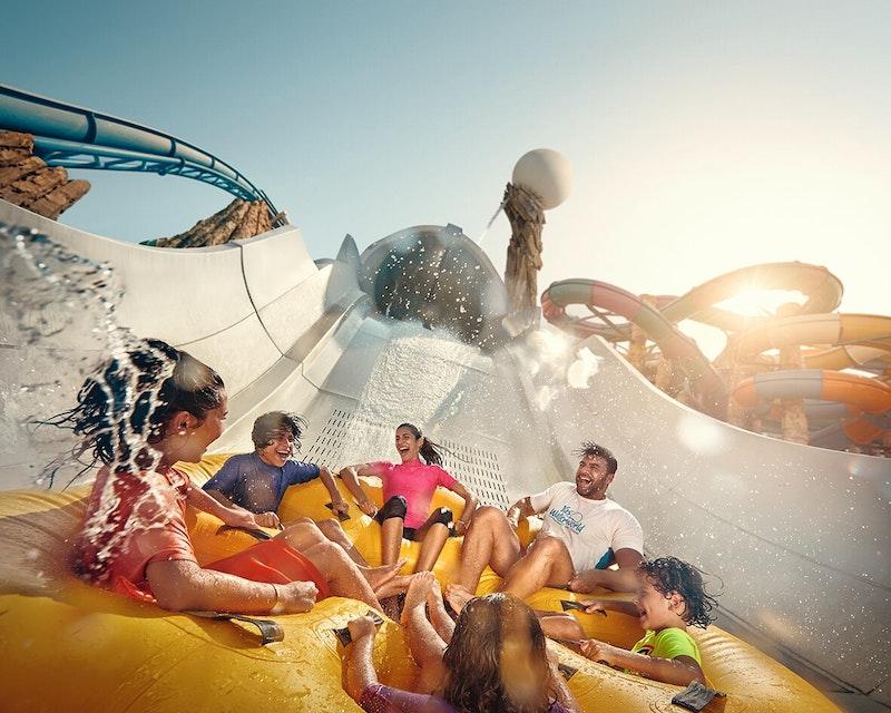 Ferrari World, Yas Waterworld, Warner Bros. World™ Abu Dhabi (1 Day Pass)