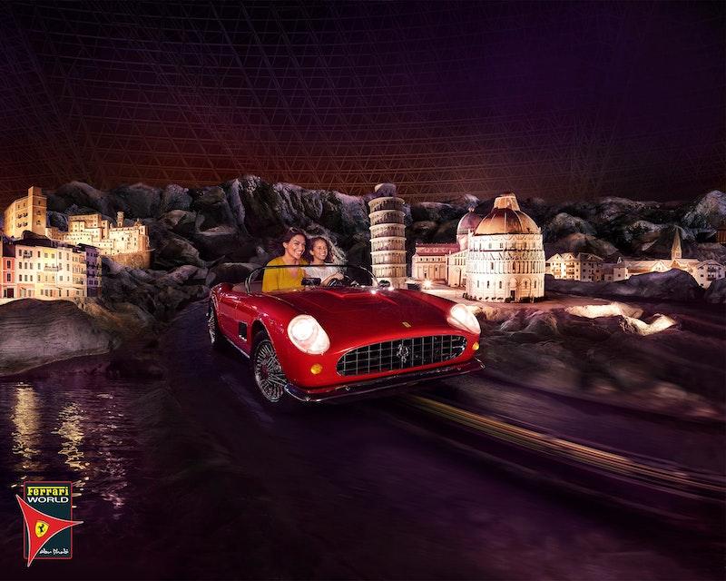Ferrari World, Yas Waterworld, Warner Bros. World™ Abu Dhabi (1 Day Pass) Location