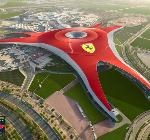 Ferrari World, Yas Waterworld, Warner Bros. World™ Abu Dhabi (1 Day Pass) Ticket