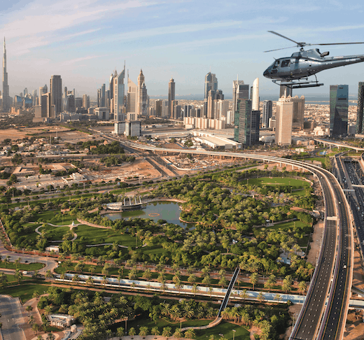 The PALM Helicopter Tour - 17 Minutes Location