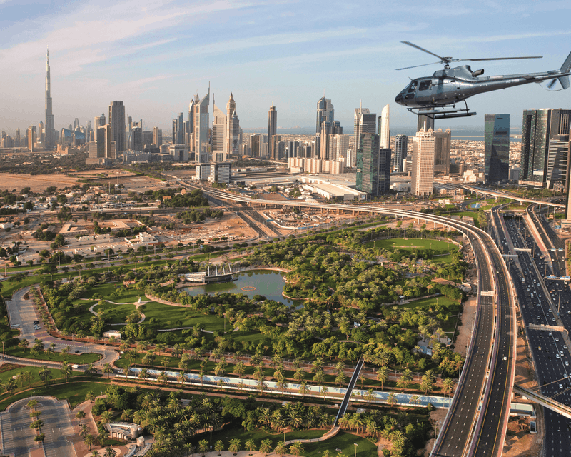 VISION Helicopter Tour - 22 Minutes Category