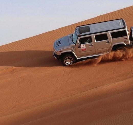 Hummer Desert Safari with BBQ Dinner  Ticket
