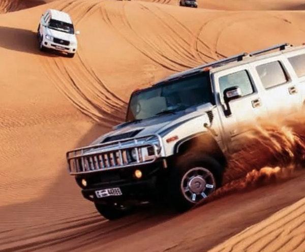 Hummer Desert Safari with BBQ Dinner