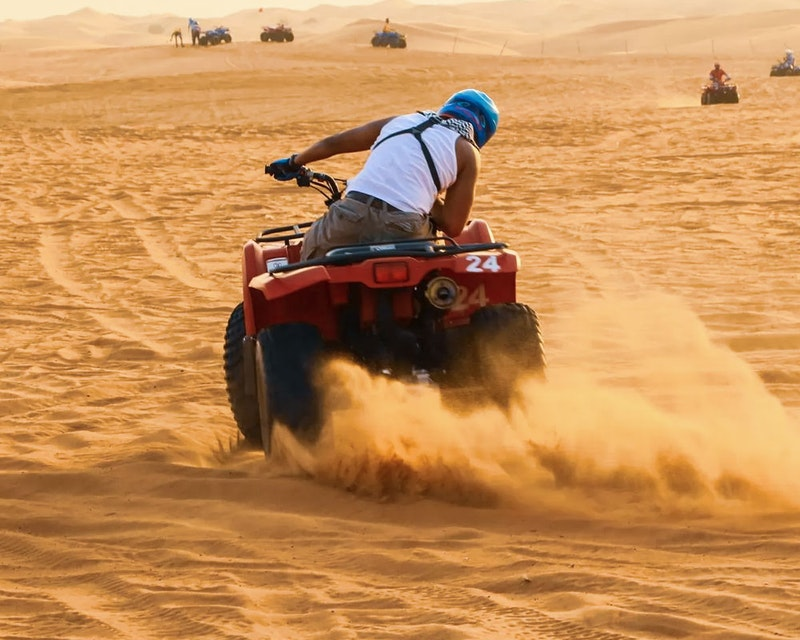 Desert Safari with Quad Bike   Discount