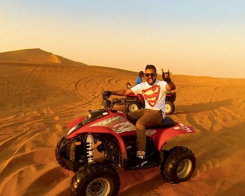Desert Safari with Quad Bike   Ticket