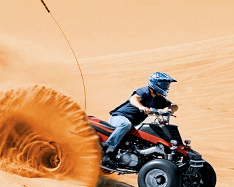 Desert Safari with Quad Bike   Price