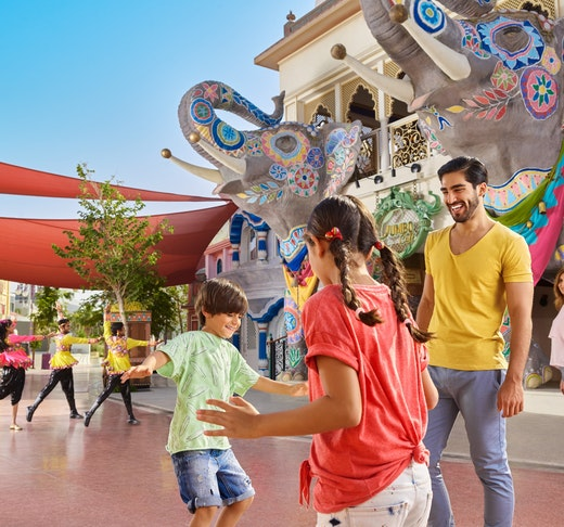 Dubai Parks and Resorts: Two Parks Pass Ticket