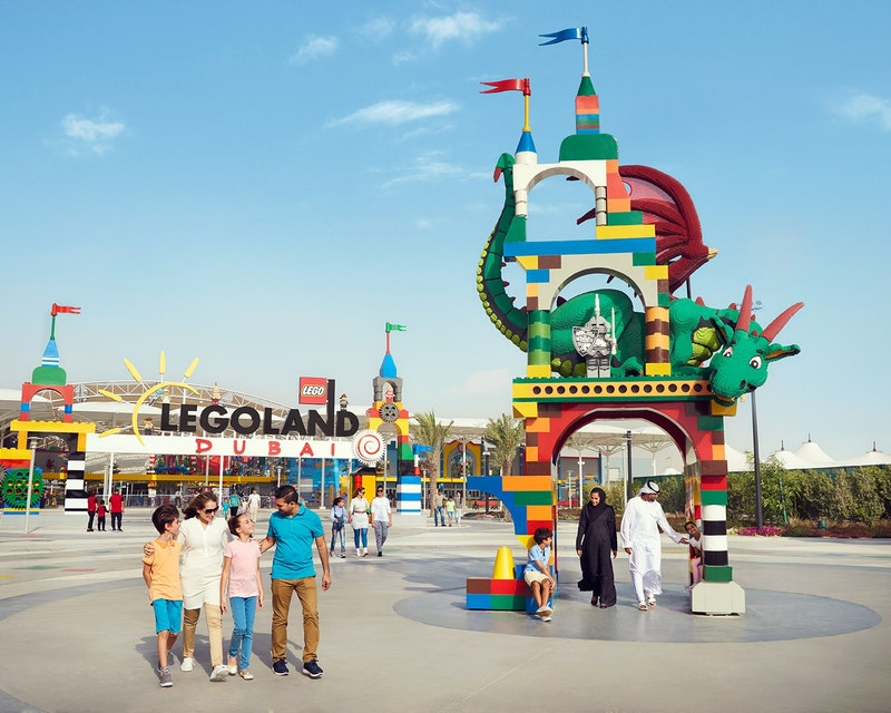 Dubai Parks and Resorts: Two Parks Pass Tripx Tours