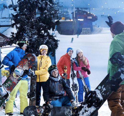 Ski Dubai   Ticket