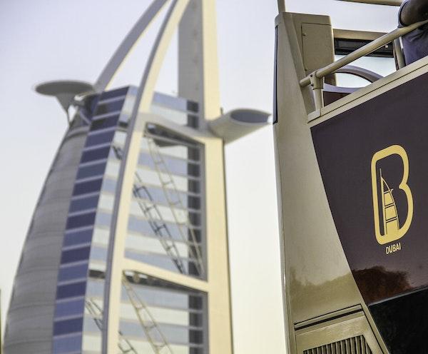 Big Bus Dubai: 1/2/5 Days Hop-On-Hop-Off Tour Price