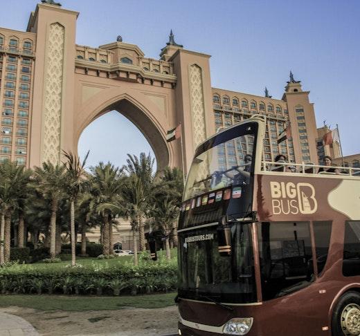 Big Bus Dubai: 1/2/5 Days Hop-On-Hop-Off Tour