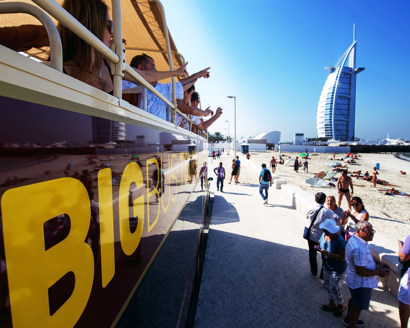 Big Bus Dubai: 1/2/5 Days Hop-On-Hop-Off Tour Location