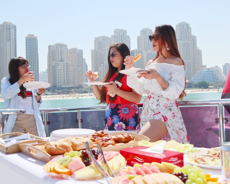 Luxury Shared Yacht Tour