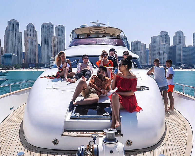 Luxury Shared Yacht Tour Location