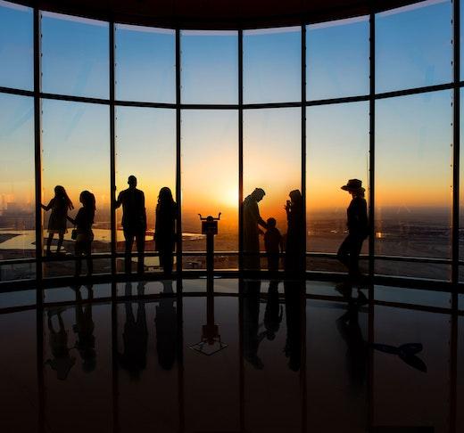Burj Khalifa Level 124+125 + Dubai Aquarium and Underwater Zoo Category
