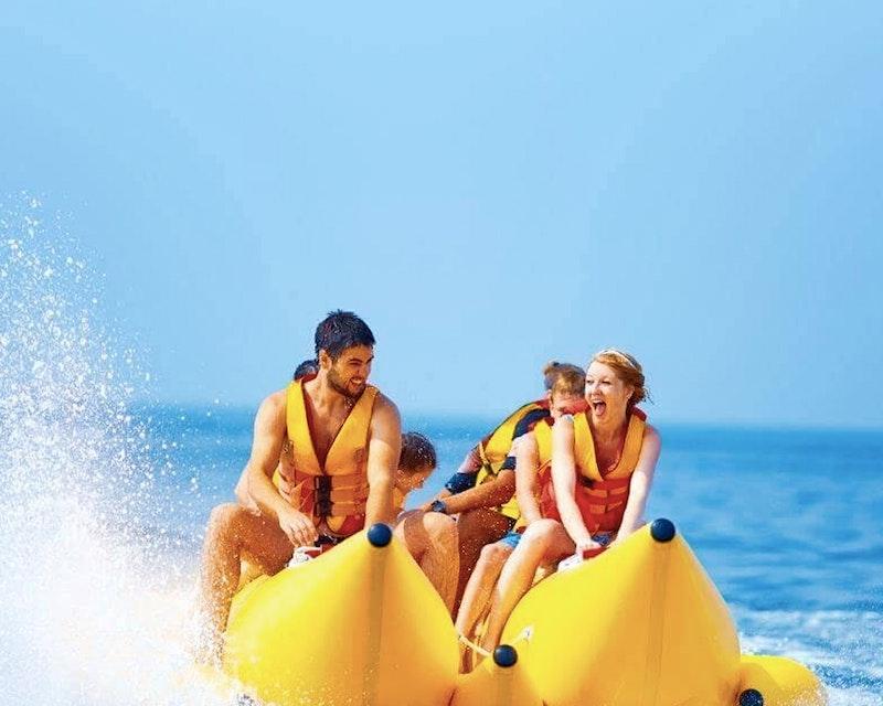 Banana Boat Ride  Ticket