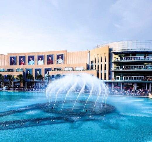 Dubai Fountain Boardwalk Price