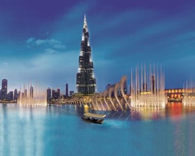 The Dubai Fountain Show and Lake Ride Discount