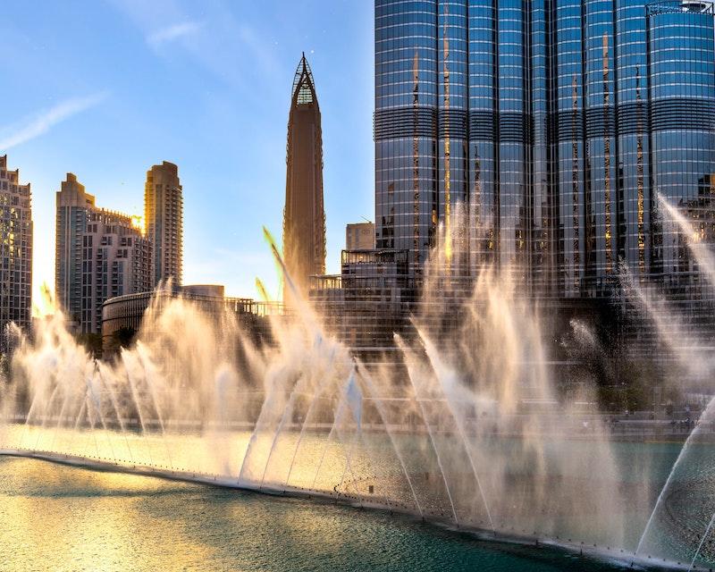 The Dubai Fountain Show and Lake Ride Price
