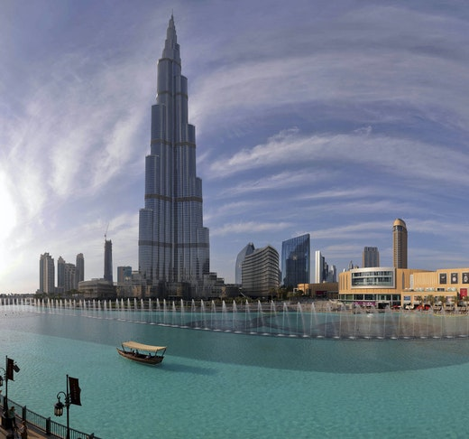 The Dubai Fountain Show and Lake Ride Ticket