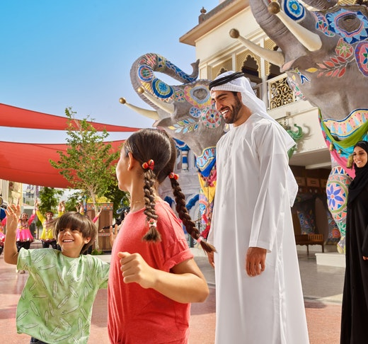 Dubai Parks and Resorts: Four Park Pass with Q-Fast Location