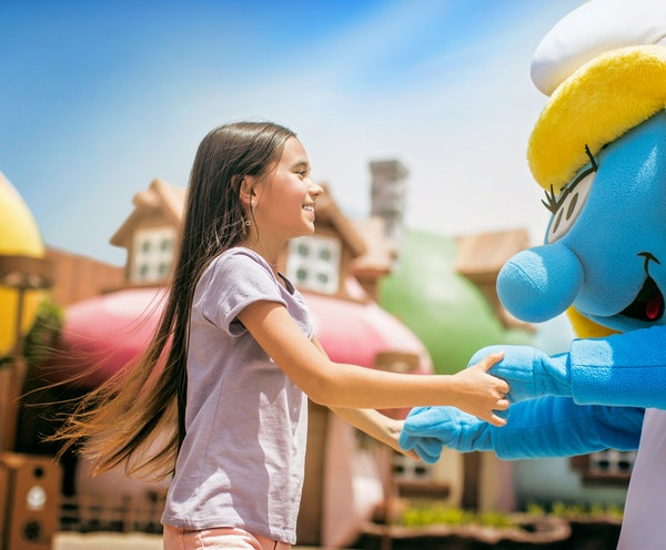 Dubai Parks and Resorts: Four Park Pass with Q-Fast