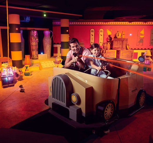 Dubai Parks and Resorts: Four Park Pass with Q-Fast Ticket