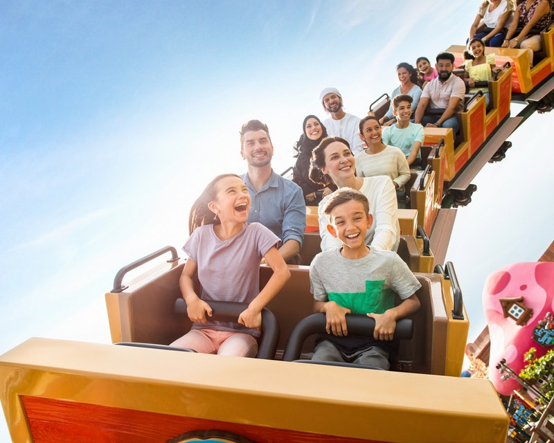 Dubai Parks and Resorts: Four Park Pass with Q-Fast Price