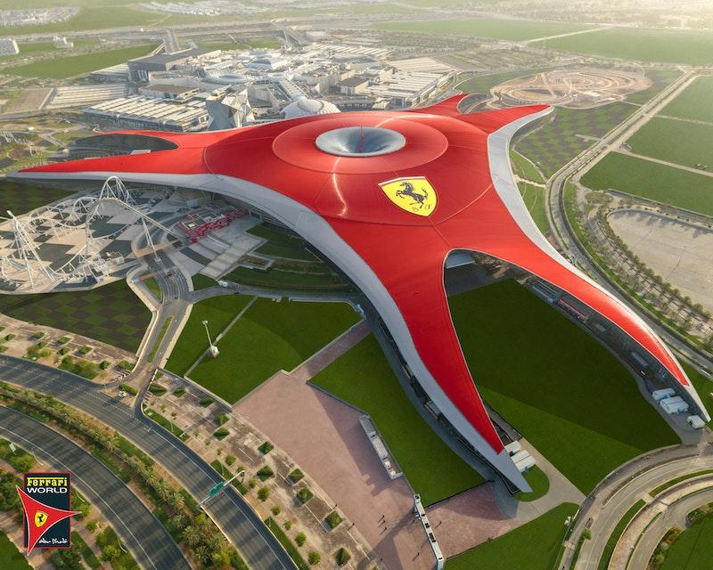 Ferrari World, Yas Waterworld, Warner Bros. World™ Abu Dhabi (2 Days Pass) Location