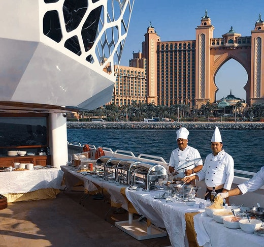 Mega Yacht Lotus Brunch Party Cruise