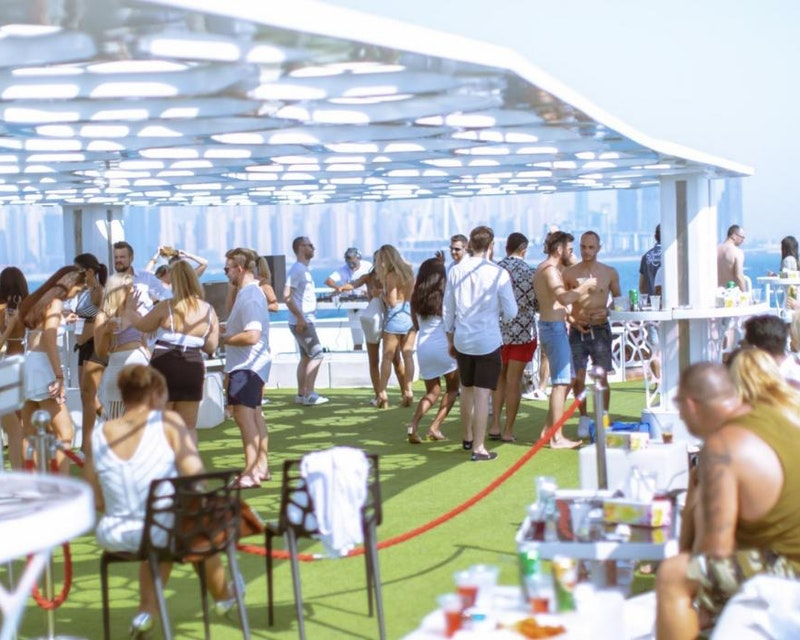 Lotus Mega Yacht Weekend Brunch Cruise Location