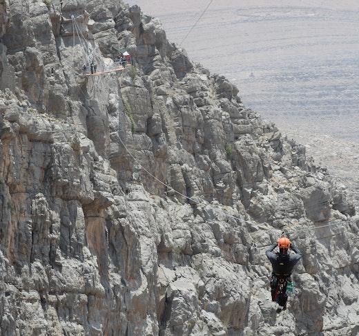 Jebel Jais Zip Line  Ticket