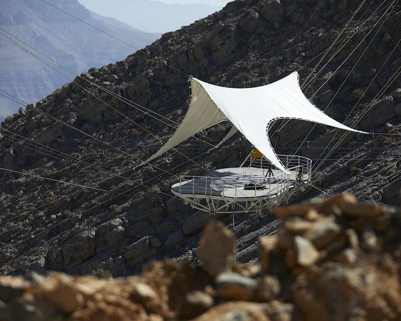 Jebel Jais Zip Line  Location
