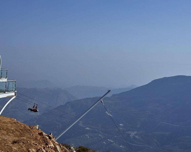 Jebel Jais Zip Line  Discount