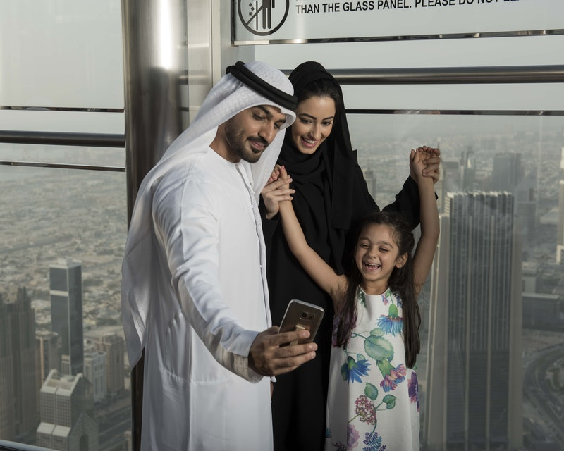 Burj Khalifa: At the Top Sky with (Level 124, 125 & 148) Location