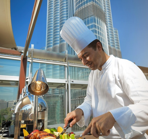 Burj Khalifa: Level 124 + Dinning at The Roof Top Location