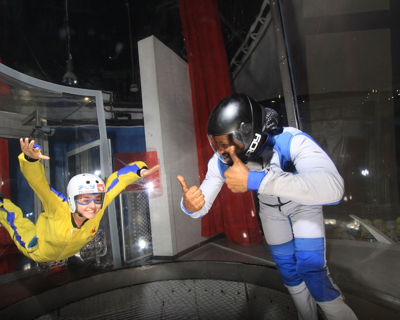 iFly Dubai - Indoor Skydiving Experience Location
