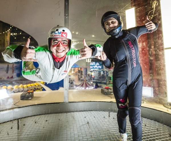 iFly Dubai - Indoor Skydiving Experience Ticket