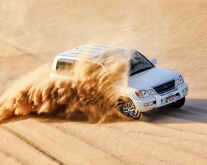 Abu Dhabi Desert Safari  Location