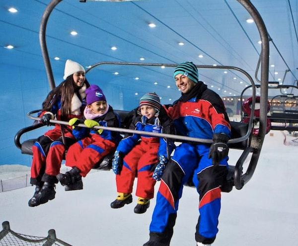 Ski Slope Session - Ski Dubai