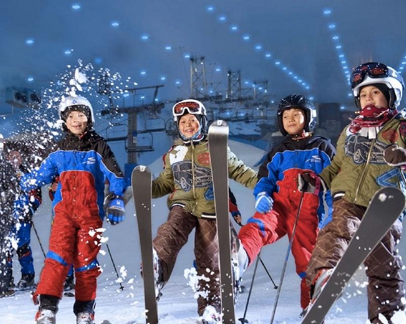 Ski Slope Session - Ski Dubai  Ticket
